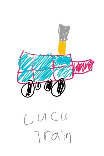 CUCU TRAIN | Wonderland | Digital Drawing | PENUP