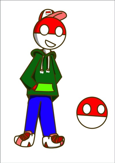 Indonesia Countryhuman and Countryball   Chipflake   Digital Drawing   PENUP