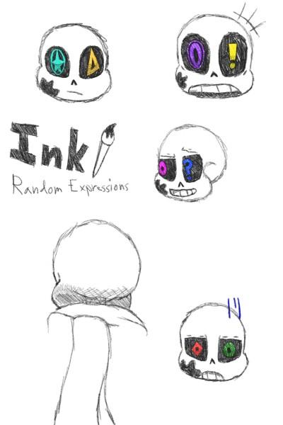 Ink: Random Expressions | inky | Digital Drawing | PENUP