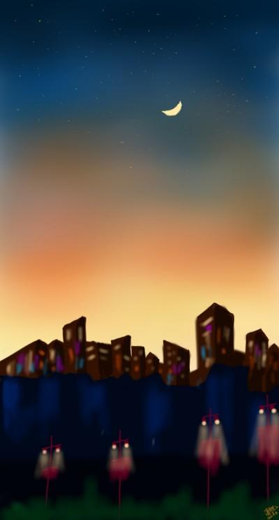 새벽길을 나서며! | song | Digital Drawing | PENUP