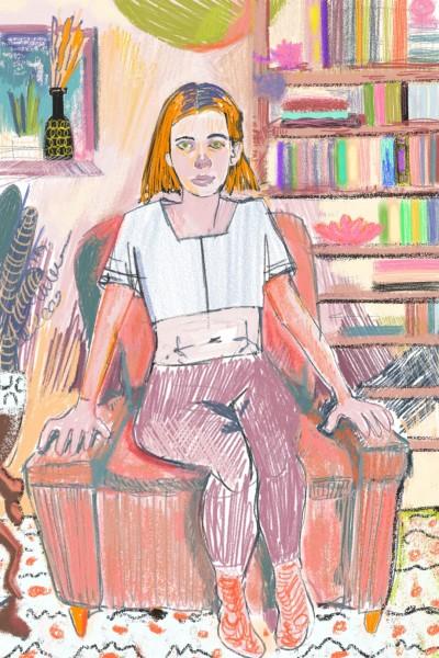 At home | molakinowa | Digital Drawing | PENUP