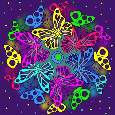 Schmetterlinge  | Klimtin | Digital Drawing | PENUP