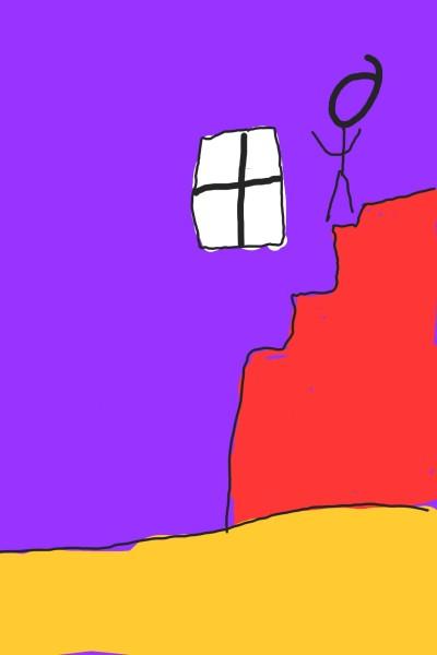 Colorful Stairs  | Xavier | Digital Drawing | PENUP