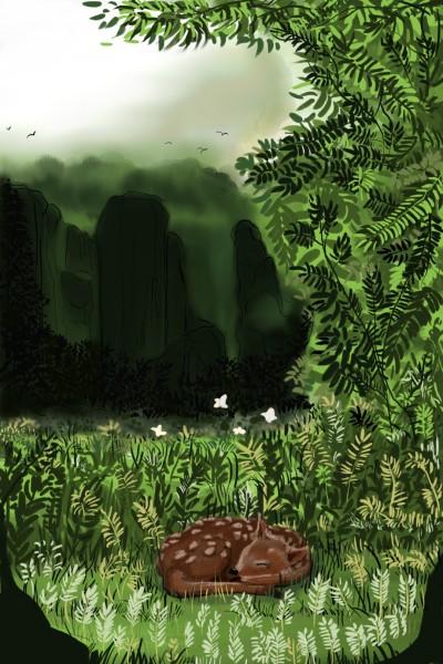 Cozy place | Dexter | Digital Drawing | PENUP