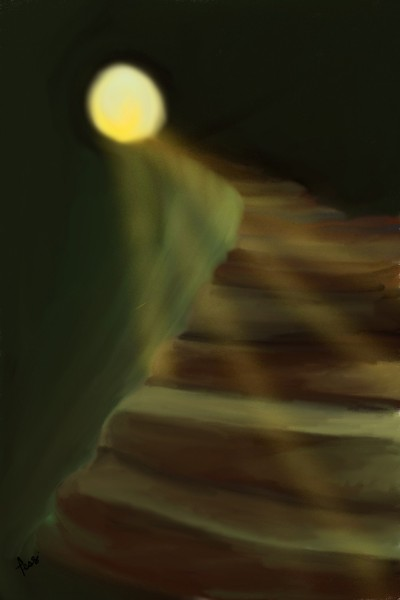 Follow the light. | Tess | Digital Drawing | PENUP