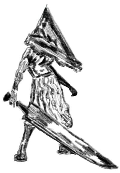 Pyramide Head - Silint Hill | sherlock | Digital Drawing | PENUP
