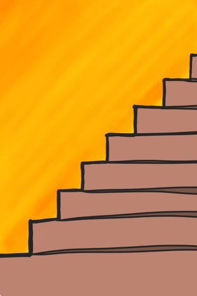 Stairs | MyKol | Digital Drawing | PENUP