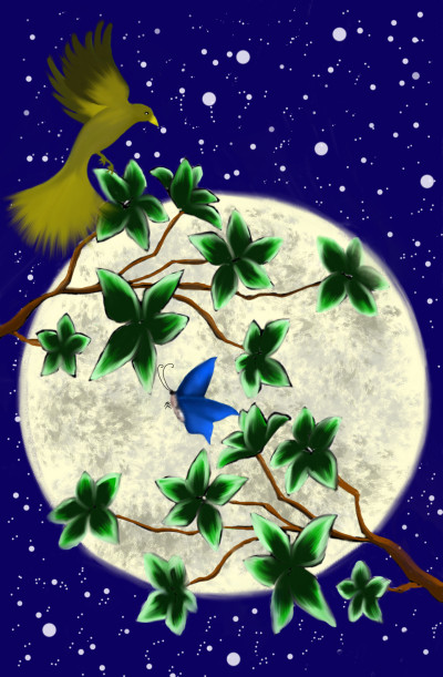 Moonlight collab with Raven   sherlock   Digital Drawing   PENUP