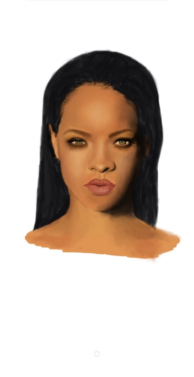 Rihanna  | nick | Digital Drawing | PENUP