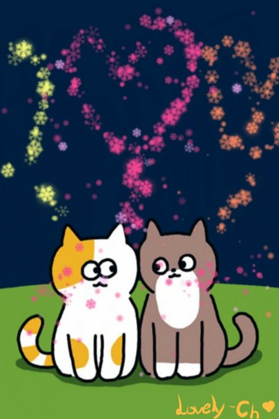Lovely Cats♡ | Lovely-Ch | Digital Drawing | PENUP