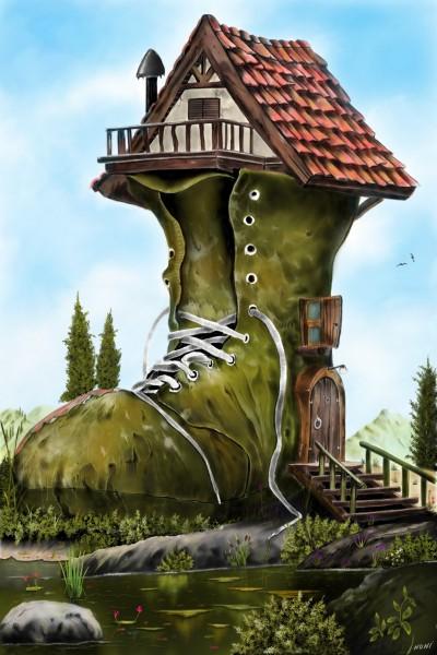 The old shoe  | nuni | Digital Drawing | PENUP