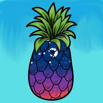 منظره ی داخل آناناس (: | HeliSama | Digital Drawing | PENUP