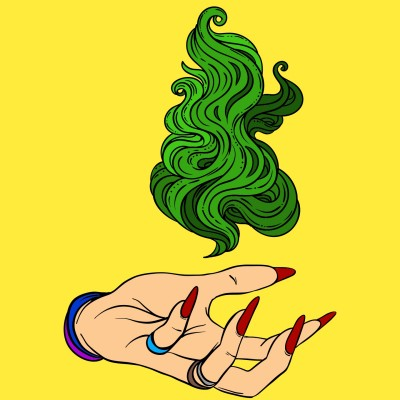 Green Fire | RafaelZanetti | Digital Drawing | PENUP