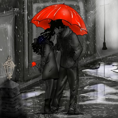 Rain,umbrella  | ramdan1111 | Digital Drawing | PENUP