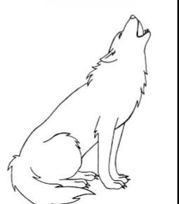 wolf~ | Goldenwolf | Digital Drawing | PENUP