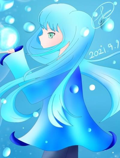 자캐 가람 | Luna_08 | Digital Drawing | PENUP
