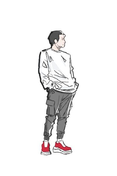 meu primeiro desenho | gabi | Digital Drawing | PENUP