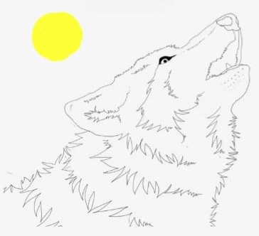 Iove wolf  | Goldenwolf | Digital Drawing | PENUP