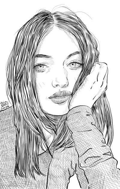 Ania | jericojhones | Digital Drawing | PENUP