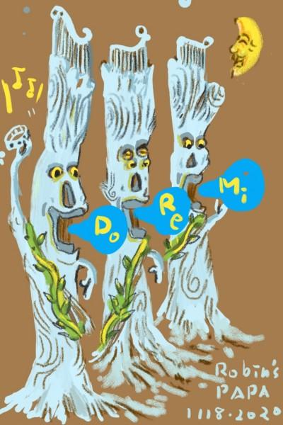 Terzetto of Tree Flute . | RobinPAPA | Digital Drawing | PENUP