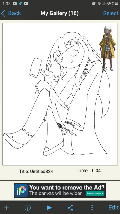 [W.I.P] Angie, the Ultimate Artist! | That_One_Weirdo | Digital Drawing | PENUP
