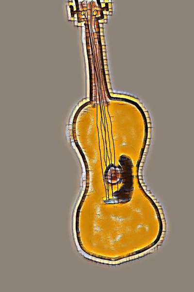 Guitar | .._-Art-_.. | Digital Drawing | PENUP