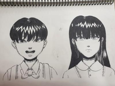 아ㅏ아ㅏㅇ 뭐야 사진 왜이렇게 이상해   choeun   Digital Drawing   PENUP