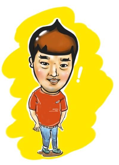 도토리맨 | Iness_j.y_park | Digital Drawing | PENUP