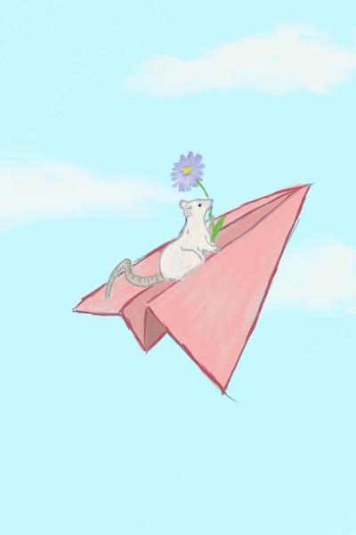 Journey Through the Sky | BunnyBizarre | Digital Drawing | PENUP