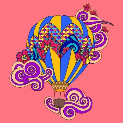 Heißluftballon  | tobiwo | Digital Drawing | PENUP
