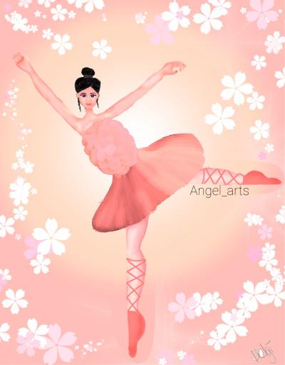 Collab with my dear friend helgi♡♡♡♡ | Angel_arts | Digital Drawing | PENUP