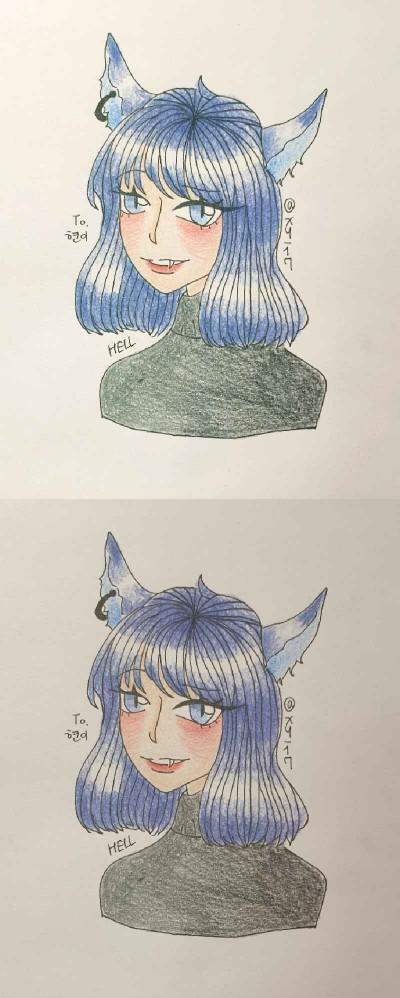 현이 기프트~!! | xy_17 | Digital Drawing | PENUP