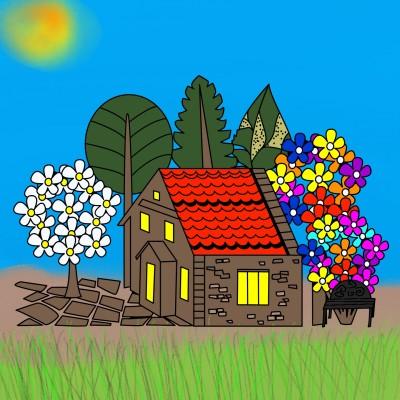 House | Boomer | Digital Drawing | PENUP