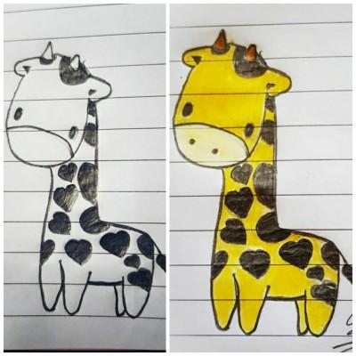 Giraffe   Asa   Digital Drawing   PENUP