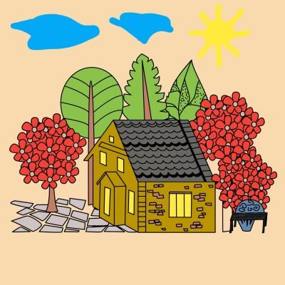 My house.. | Alexs | Digital Drawing | PENUP