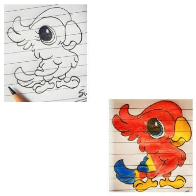 Bird   Asa   Digital Drawing   PENUP
