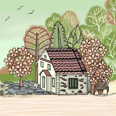 Home sweet home ♡ | Sylvia | Digital Drawing | PENUP