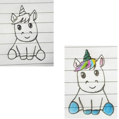 Unicorn | Asa | Digital Drawing | PENUP