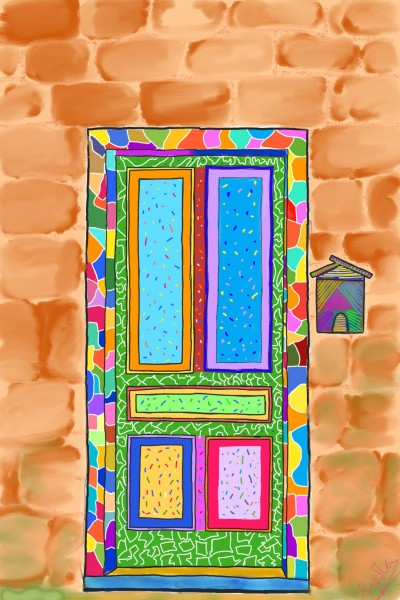 colour splash door | sipiha | Digital Drawing | PENUP