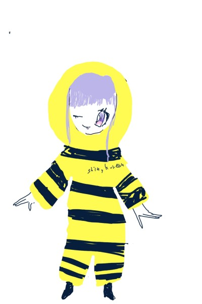 봄언니가 말한 그 꿀벌잠옷이 이건가?ㅋㅋㅋㅋ 어쨌든 언니 150팔로우 축하해.. | shinykorean | Digital Drawing | PENUP