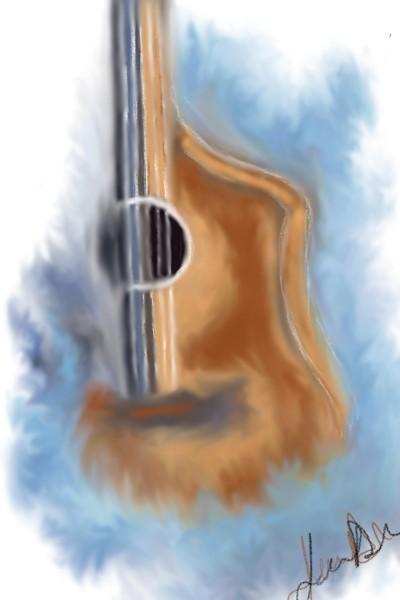 Acoustic Airbrush   JennD   Digital Drawing   PENUP