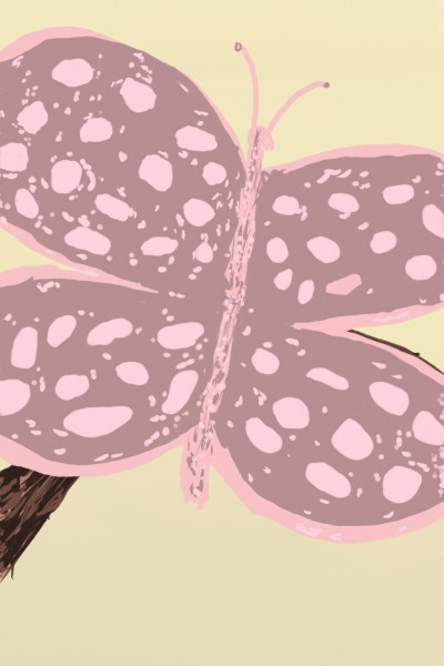 Large pink butterfly  | Dan | Digital Drawing | PENUP