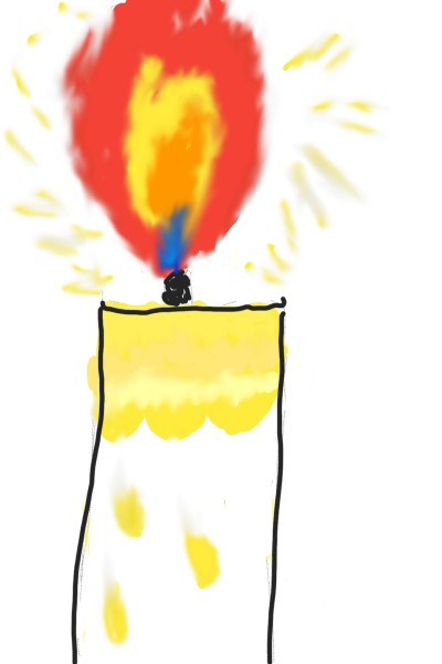 ugly candle! | rnjsals | Digital Drawing | PENUP
