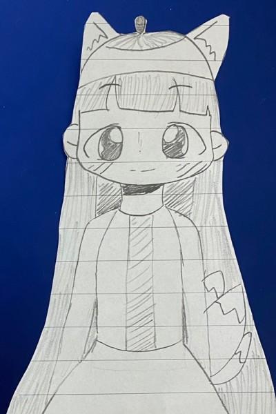 미안ㅜ(구미호의인화)(민초팀합작)   _Huyu_   Digital Drawing   PENUP