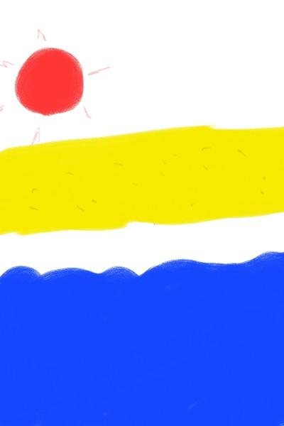 해변 | violet | Digital Drawing | PENUP