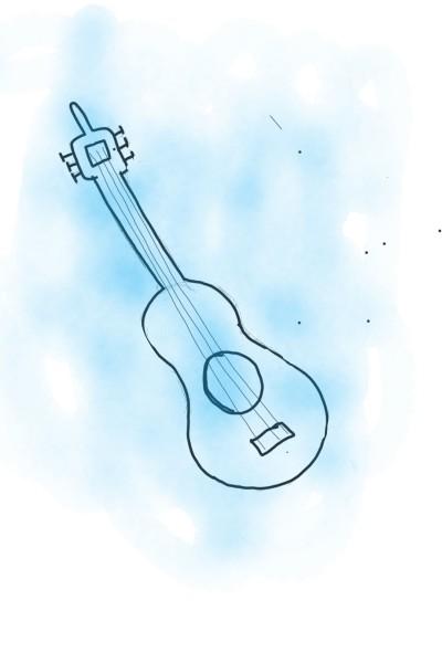 Eine nicht so gelungene Gitarre.   Ada   Digital Drawing   PENUP