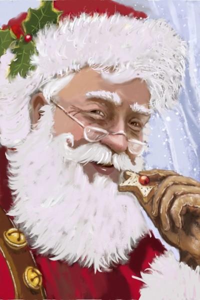 Santa Claus    masterT   Digital Drawing   PENUP