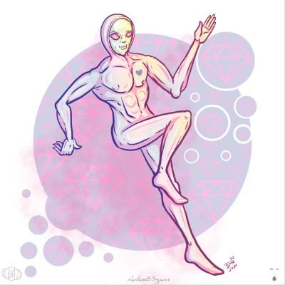 Pink phantom by nikolass  | nikolass83 | Digital Drawing | PENUP