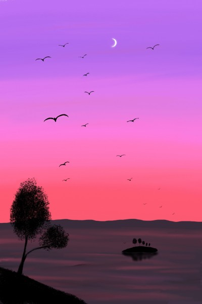 Landscape Digital Drawing | grgm | PENUP