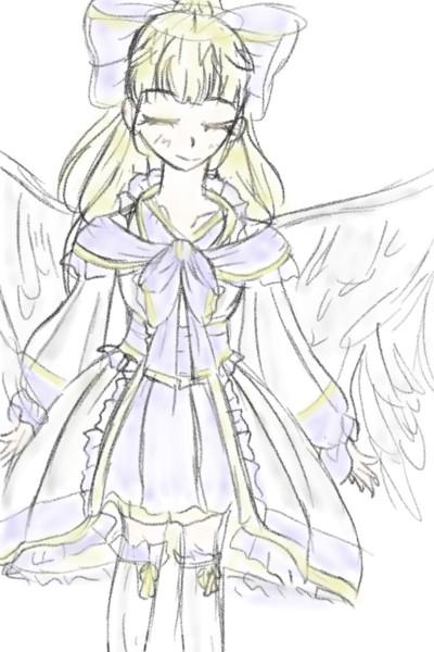천사...(?) | Dahwin | Digital Drawing | PENUP